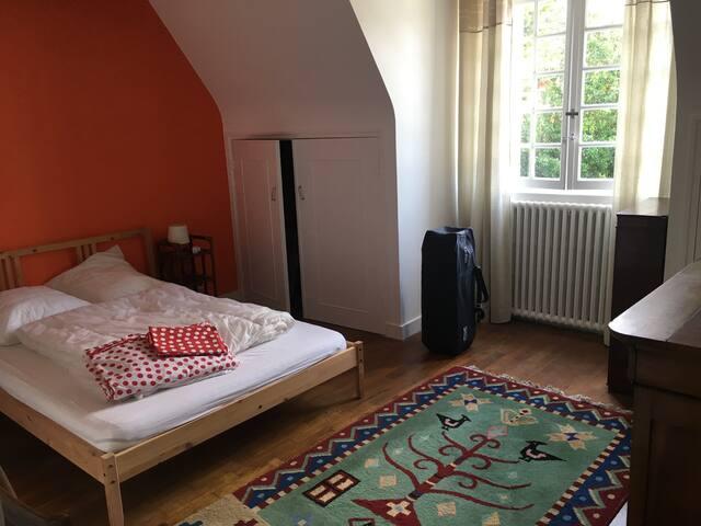 Chambre 5 - Orange