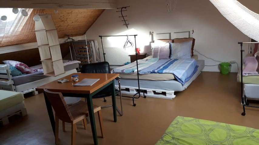 Dormitory in the middle of Luxembourg-City Center
