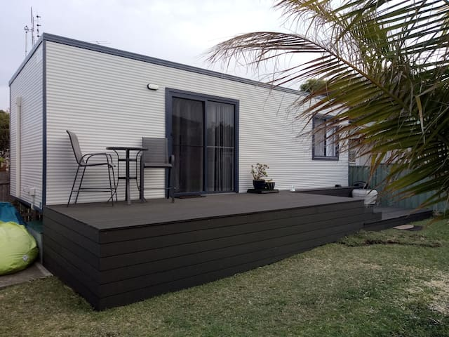 Exterior - Deck and entry.