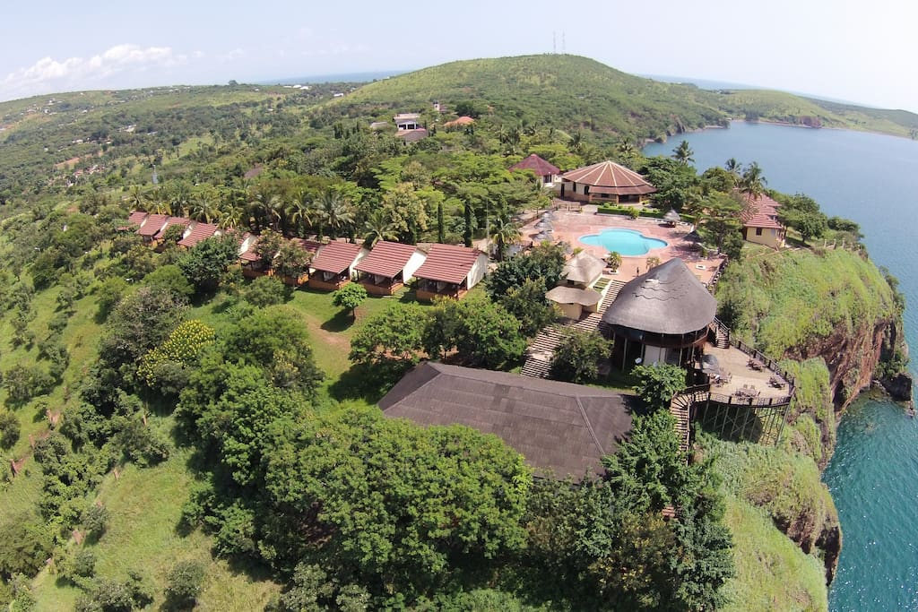Hilltop views of Lake Tanganyika