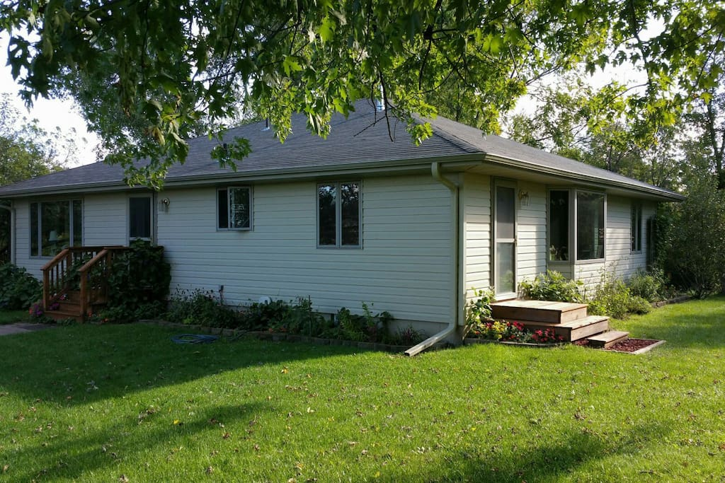 3600 square foot home in a beautiful country setting. Newly renovated; designed to provide privacy.