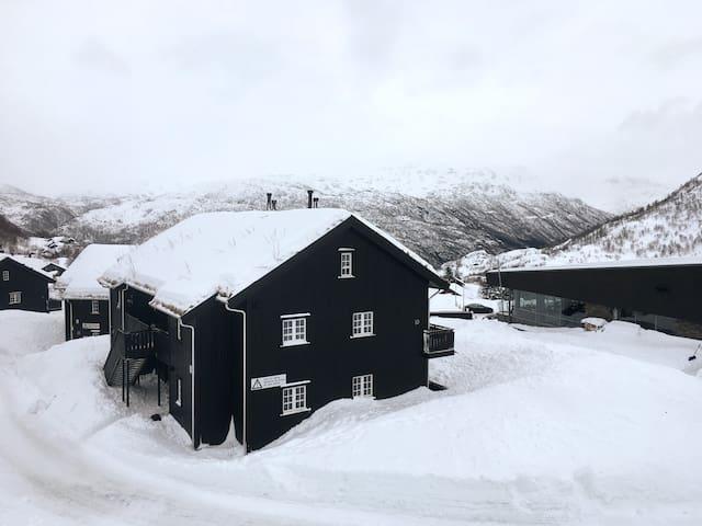 Praktisk leilighet midt i Røldal Alpingrend