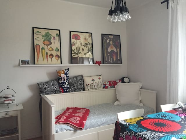 Cozy and beautiful city home in trendy Vallila