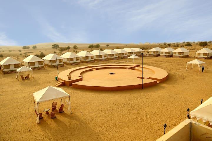 Exotic Luxury AC Room @Jaisalmer Rajasthan