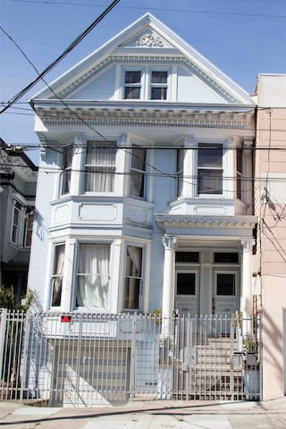Latin Victorian Style n the Mission #1 -1906 Home