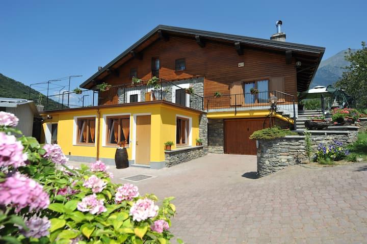 Appartamento in Chalet centro della Valle d'Aosta