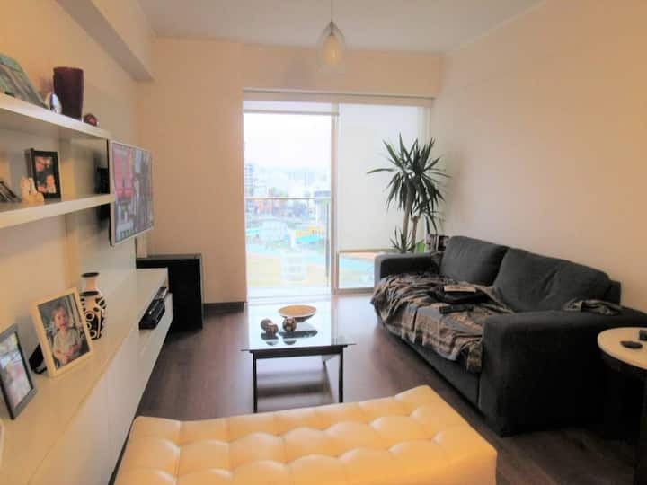 At the sky! Spacious flat in Barranco with pool