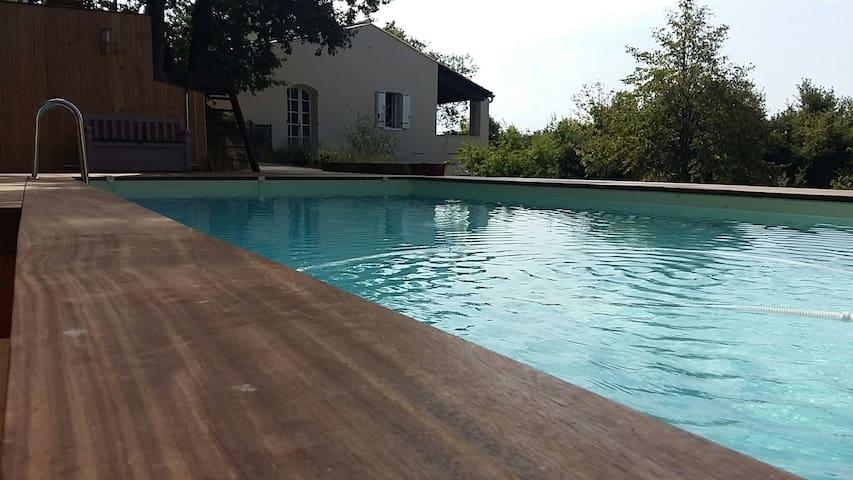 nid douillet en Drôme Provençale - Condillac - Apartemen
