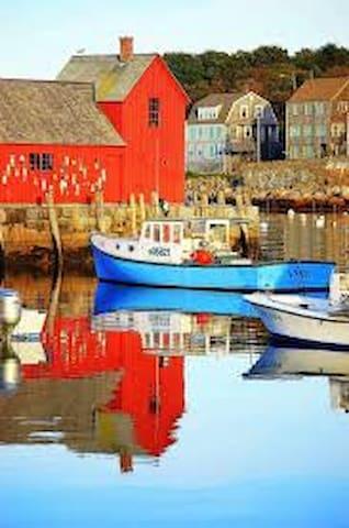 Historic Rockport Massachusetts