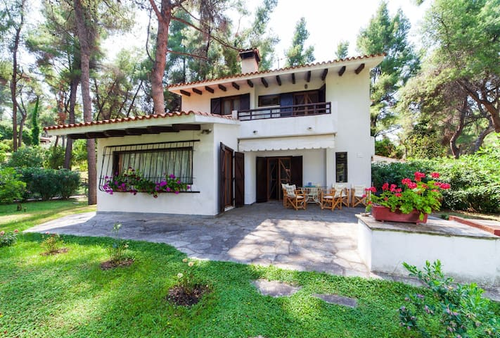 Sani's House, Villa in the forest
