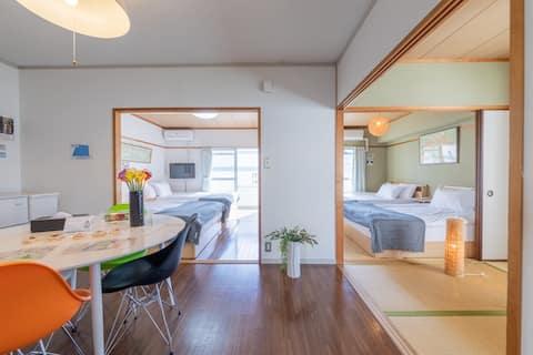 30sec Peacepark up2 9 spacious 3bed room+Wi-fi#26