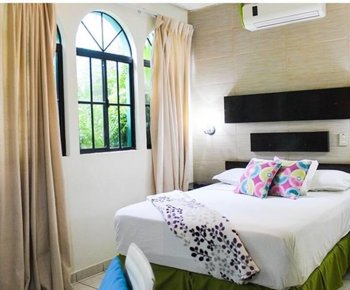 Excelente habitación y ubicación