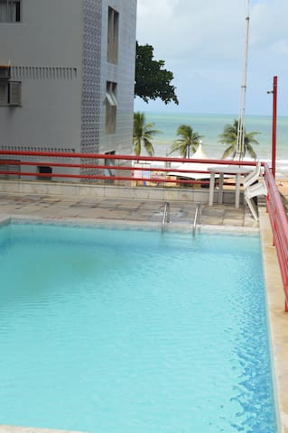 Flat no Hotel Mercure Navegantes  A 40m do mar