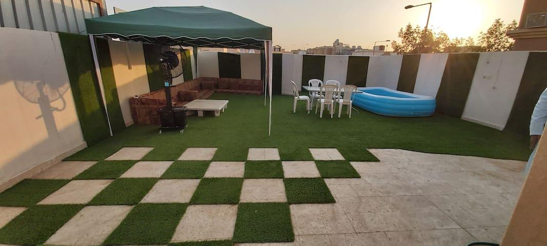 Villa portion for a Family trips to Riyadh.