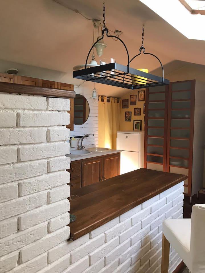 Private apartment in country estate in Umbria