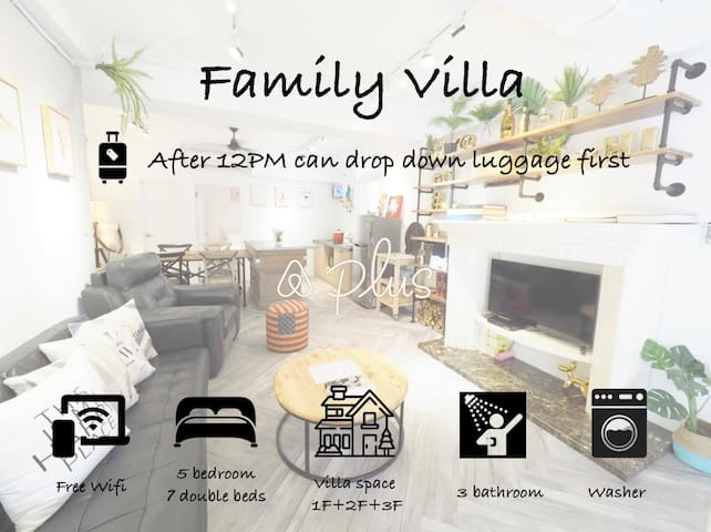 【SALE SEP】Family Villa Exclusive 5Bedrooms/ 14ppl