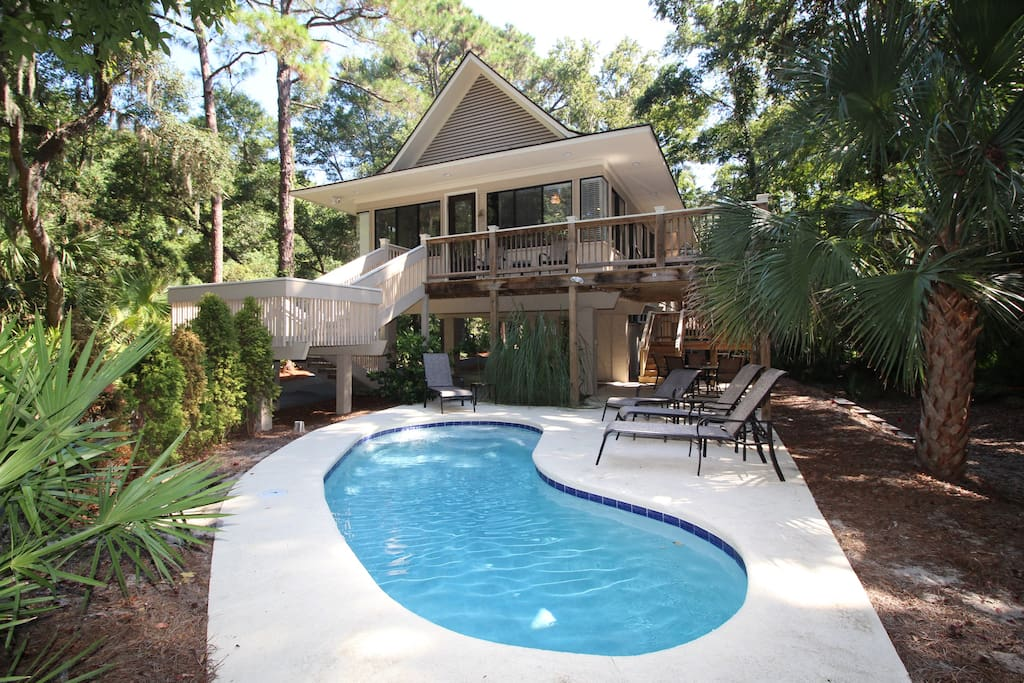 Large Beach Houses For Rent In South Carolina
