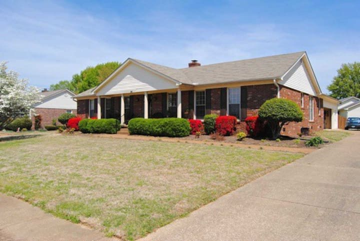Centrally located home in quiet neighborhood.