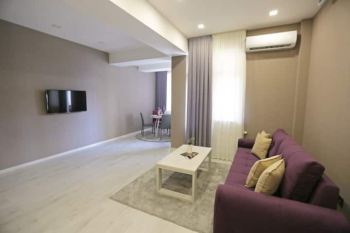 Elyor's new apartment No.17th of 20, area 65 m2