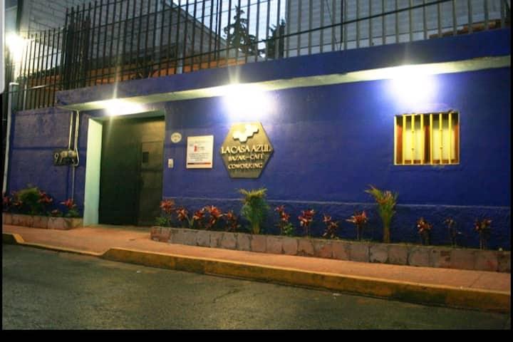 Habitación Cactus Azul en La Casa Azul - Sur CDMX