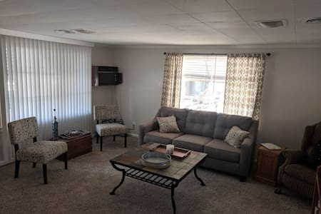SAFE HAVEN: 2 BR Perfect place for three or four!