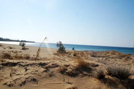 Studios on the beach - Chrisi Akti - Rumah Tamu
