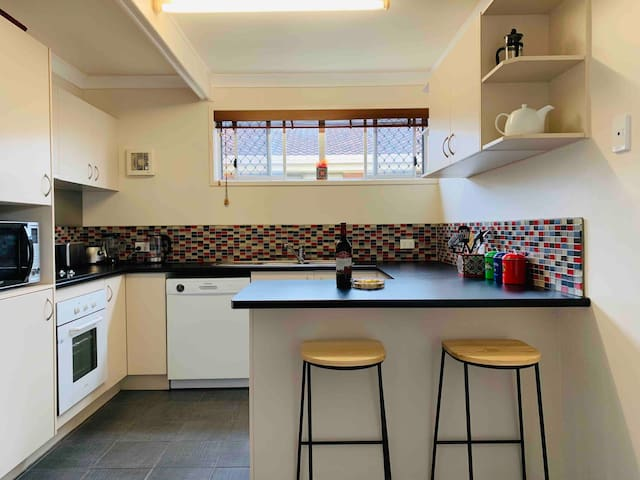 Fully equiped kitchen with absolutely everything you will need.