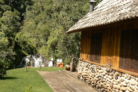 CHALÉ DA CACHOEIRA - Bocaina de Minas - Cabin