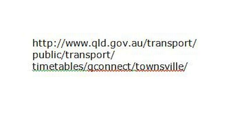 qconnect bus info - See FlindersSt/InghamRd Stop