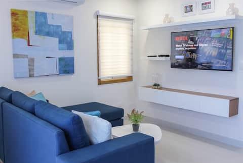 Роскошный люкс с 2 спальнями, в 1 минуте от пляжа!