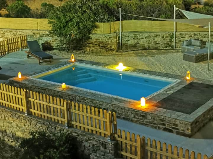 Dream Inn Paros, private pool