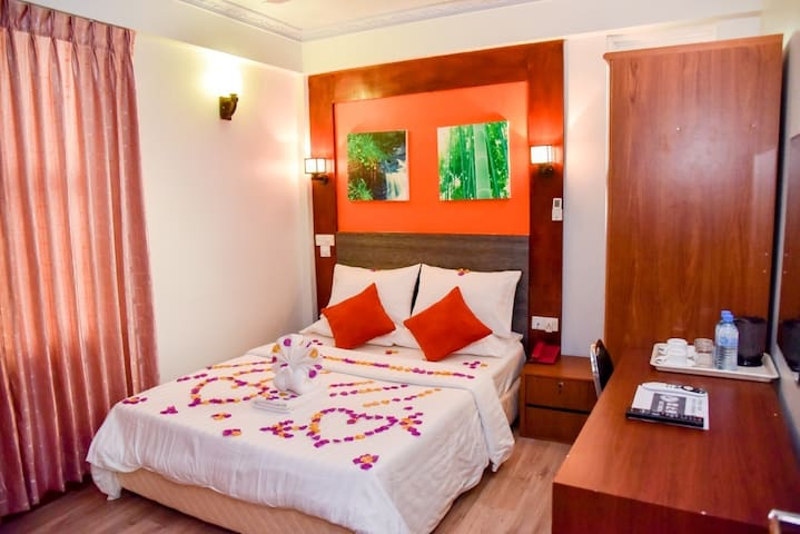 Private comfortable rooms in Crystal Crown Hotel