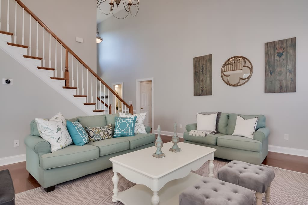 Relax in the 2-story Great Room