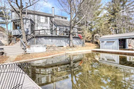 Beautiful one-of-a-kind home by the lake - Buckhorn - 一軒家
