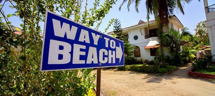 Affordable 2BHK Villas near Candolim Beach