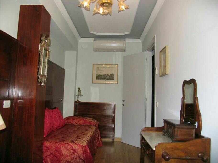 Camera singola della suite attico