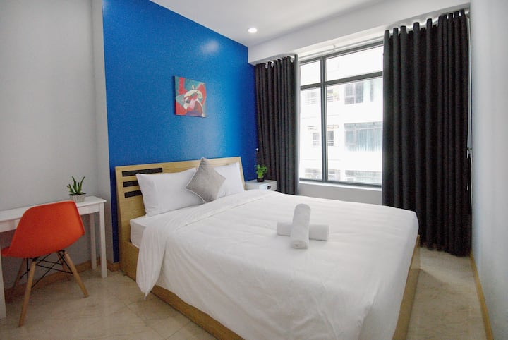 TWO BEDROOM +BALCONY at Muong Thanh Vien Trieu