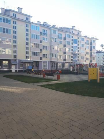 Мини аппартаменты в Олимпийском парке
