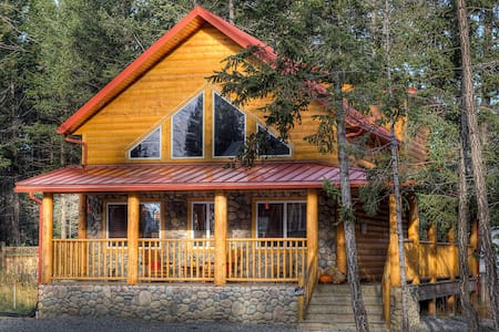 Iron Ring Log Chalet