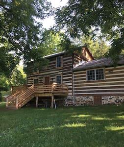 Serene 1890's Log Cabin