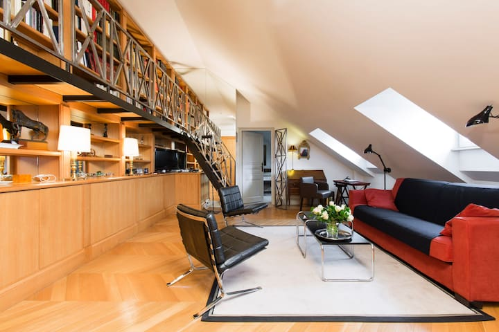 Stunning 1BR King bed in la Madeleine - París - Pis