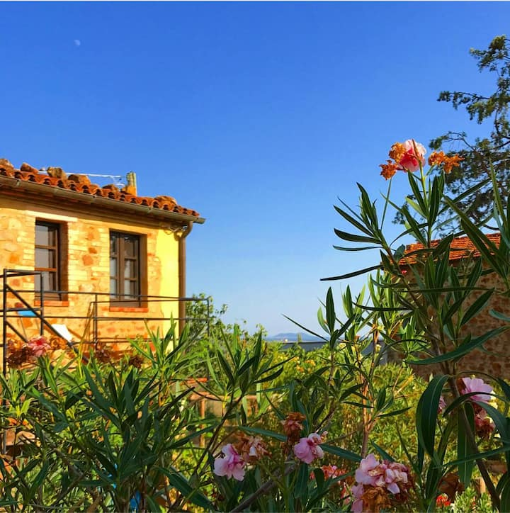 Holiday home Casone, Apartment with dream balcony