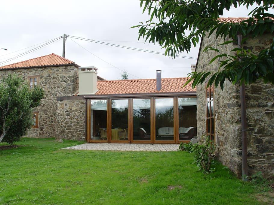 Casa boado casa completa casas en alquiler en as - Casas rurales de galicia ...