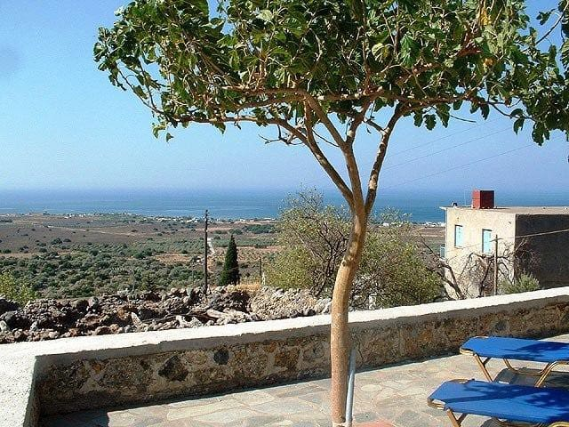 Traditional OpenPlan House Sea View - Patsianos - Casa