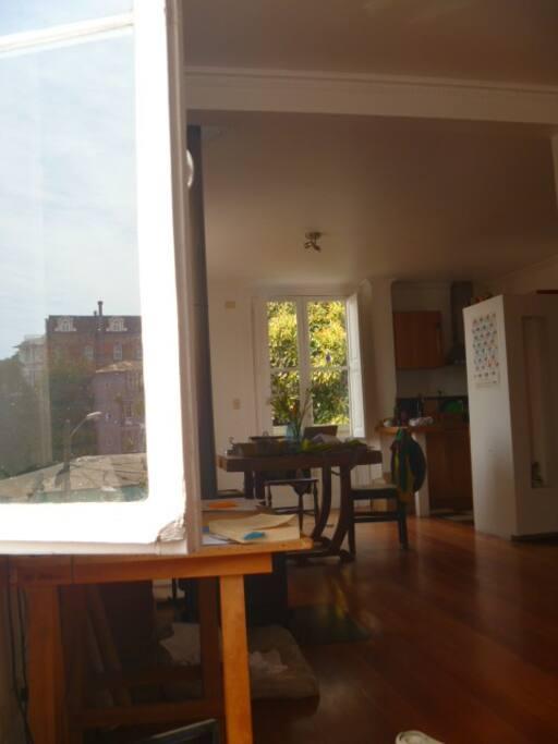 La pièce à vivre / La sala de estar