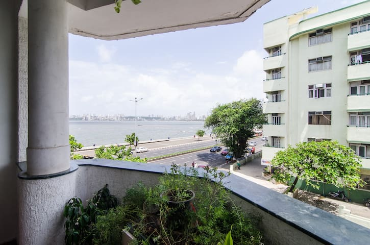 Sea view room on marine drive - Bombay - Apartamento