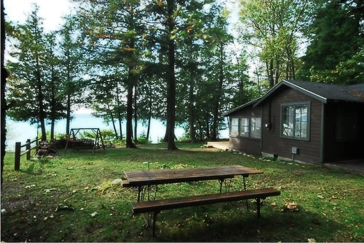 Vintage Lakefront Cottages on Torch Lake  Bellaire