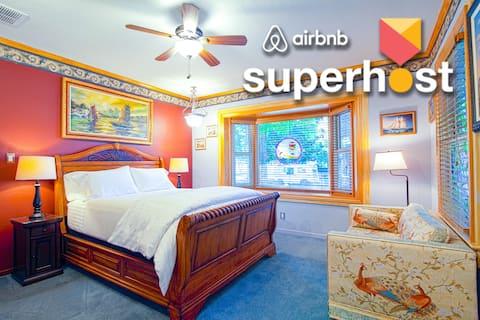 Superhosts Best Reno ❤️ +ExtraClean+Parking+NoFees