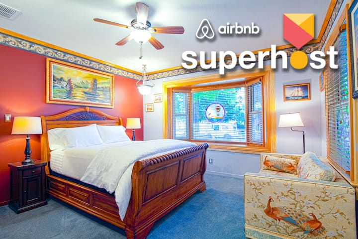 Superhosts Best Reno ❤️ +ExtraClean+Parking+NoFees