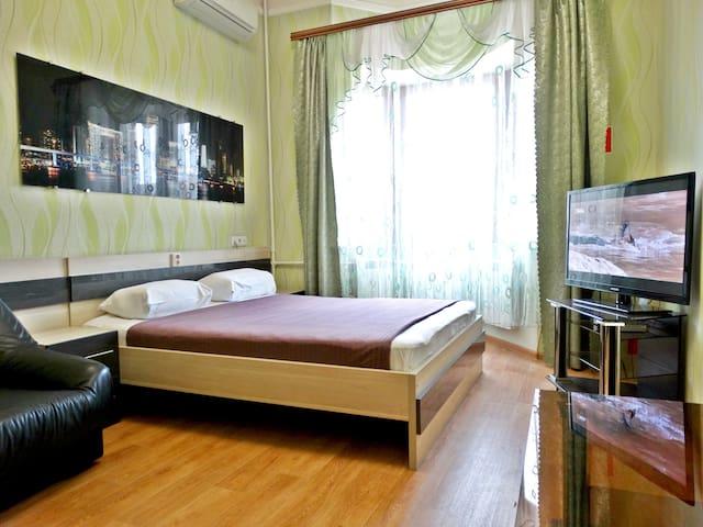 Двухкомнатная квартира люкс в центр - Tula - Apartment